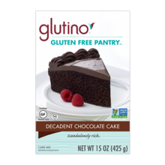 Glutino Gluten Free Chocolate Decadent Mix (375g)
