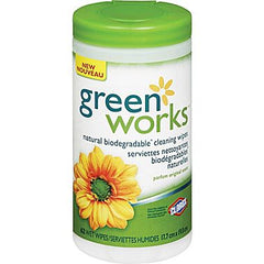 Green Works Cleaning Wipes (30 wipes)