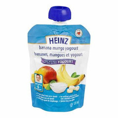 Heinz Junior Banana Mango Yogurt 6 Months (128ml)