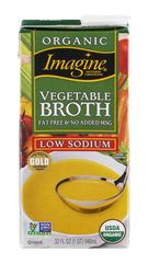 Imagine Broth Vegetable Organic Low Sodium (1L)