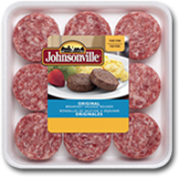 Johnsonville Sausage Original Breakfast Sausage Rounds (6 piece per pack)