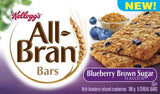 Kellogg's All Bran Bars Blueberry Brown Sugar (180 g)