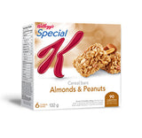 Kellogg's Special Cereal Bars Almonds and Peanuts (132 g)