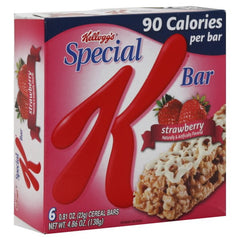 Kellogg's Special Cereal Bars Strawberry (138 g)