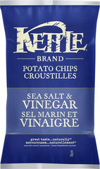 Kettle Krinkle Potato Chips Sea Salt & Vinegar (220g)