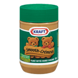 Kraft Peanut Butter Smooth (500g)