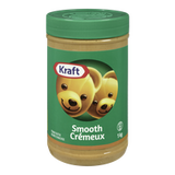Kraft Peanut Butter Smooth (1kg)