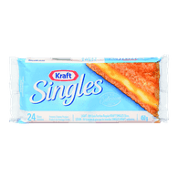 Kraft Singles Light (24 per pack)