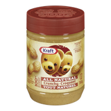 Kraft All Natural Peanut Butter Crunchy (750g)