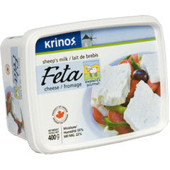 Krinos Sheep's Milk Feta Cheese (400g)