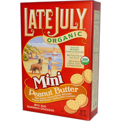 Late July Peanut Butter Sandwich Crackers (142g)  - Urbery