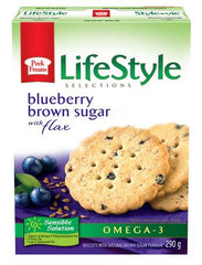 LifeStyle Selections Blueberry Brown Sugar with Flax (290g)