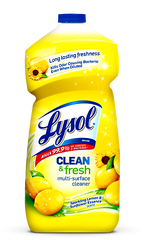 Lysol Power and Fresh Multi Surface Cleaner Lemon (1.2 L)