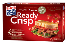 Maple Leaf Ready Crisp Bacon Slices (65g)  - Urbery