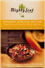 Mighty Leaf Tea Organic African Nectar (15 Whole Leaf Pouches)