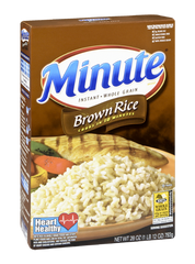 Minute Rice Brown Whole Grain (350g)