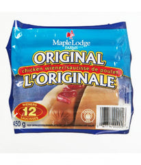 Maple Lodge Farms Original Chicken Wiener (12 per pack - 450g)