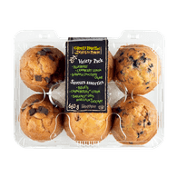 Farmer's Market Muffins Variety Pack (6 per pack)