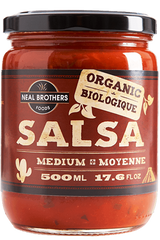 Neal Brothers Salsa Organic Medium (500ml)