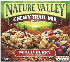 Nature Valley Chewy Trial Mix Mixed Berry Bars (230 g)  - Urbery