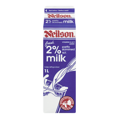 Neilson Milk 2% Partly Skimmed (1L)