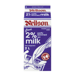 Neilson Milk 2% Partly Skimmed (2L)