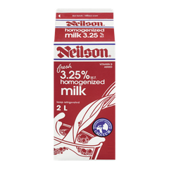 Neilson Milk 3.25% Homogenized (2L)