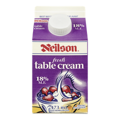 Neilson Table Cream 18% (473ml)