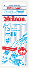 Neilson Milk 1% Partly Skimmed (2L)