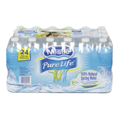 Nestle Pure Life Natural Spring Water (24X500ML)
