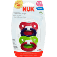 Nuk Silicone Fashion Pacifier Size 1 (2 per pack)
