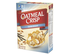Oatmeal Crisp Cereal- Almond (475g)  - Urbery