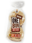 One Bun Sandwich Buns Flax Originals (600g)