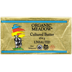 Oragnic Meadow Unsalted Butter (454g)