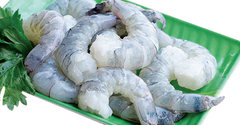 Frozen Shrimp, Raw Peeled Shrimp (approx. 400g)  - Urbery