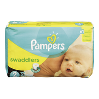 Pampers Diapers Swaddlers Jumbo Pack 2 (32 per pack)