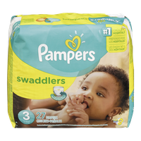 Pampers Diapers Swaddlers Jumbo Pack 3 (27 per pack)