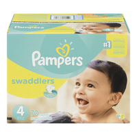 Pampers Diapers Swaddlers Super Pack 4 (70 per pack)