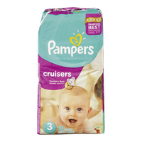 Pampers Diapers Cruisers Mega Pack 3 (50 per pack)