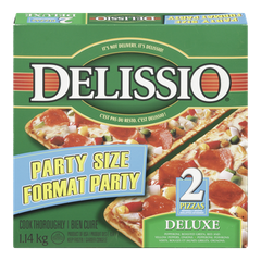 Delissio Party Size Pizza, Deluxe (1kg)