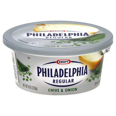 Philadelphia Cream Cheese Spread Chives & Onions (227g)