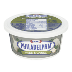 Philadelphia Cream Cheese Spread Herb & Garlic (227g)