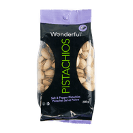 Wonderful Pistachios Salt & Pepper (200g)  - Urbery