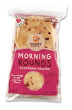 Morning Rounds Pitas Cranberry Orange (450g)