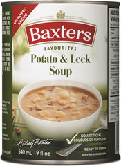 Baxters- Potato & Leek Soup (540ml)  - Urbery