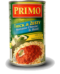 Primo Thick & Zesty Romano Cheese & Basil (680ml)