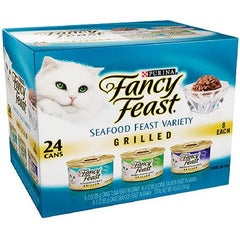 Purina Fancy Feast Grilled 12 cans