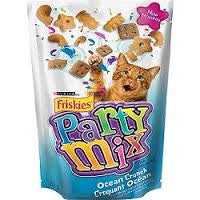 Purina Friskies Partty Mix Ocean Crunch (60g)  - Urbery