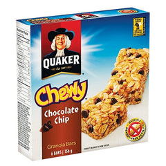 Quaker Chewy Chocolate Chip Granola Bars (186 g)