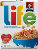 Quaker Life Whole Grain Cereal (450g)